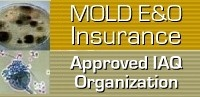 Mold E&O Insurance Approved IAQ Organization